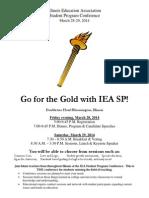 Student Spring Conference Flier