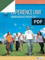 Uw i Undergraduate Prospectus