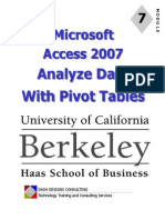Access 07 Pivot Tables