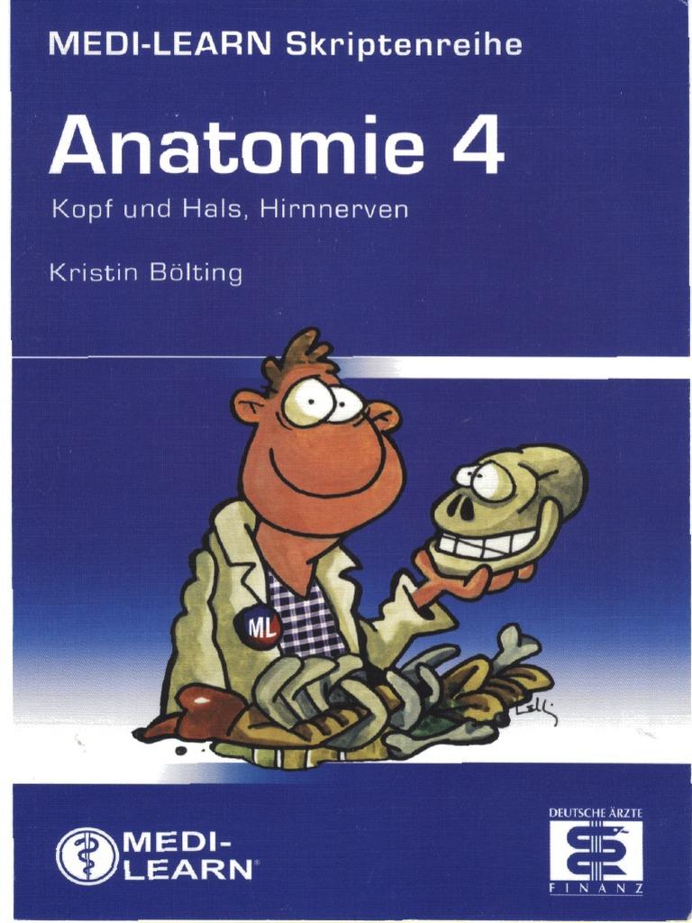 Medi-Learn Anatomie Band 4; 1. Aufl. 2007
