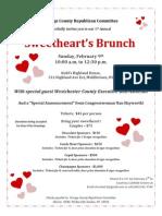 Valentines Day Brunch Invite