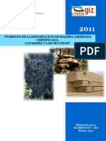 Fomento de la exportación de madera aserrada certificada, 2011
