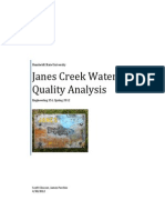purchio clowser janes creek water quality assessment
