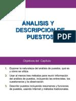 Analisis y Descripcion de Puesto Recursos Humanos.ppt Mo