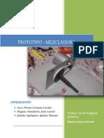Informe Del Prototipo-mezcladora