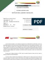 PLANIFICACIÓN DEPORTE 2do año 2013-2014