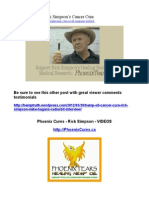 Phoenix Cures - Rick Simpson's Cancer Cure
