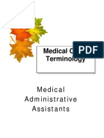 MedicalOffice Terminology