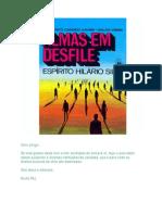( Espiritismo) - Hilario Silva - Francisco C Xavier & Waldo Vieira - Almas Em Desfile