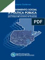 De Movimiento Social a Politica Public A