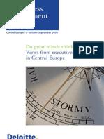 Deloitte Business Sentiment Index 1st Edition-1