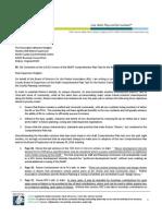 RA Position on Comp Plan Amendments, January 23, 2014