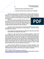 InfoMan - Maruti Suzuki Case Study