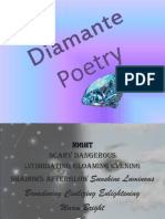 Diamante Poetry
