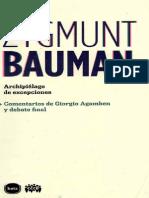 Bauman, Zygmunt - Archipielago de Excepciones