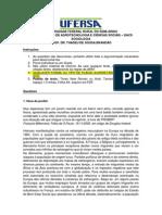Avaliação II Unidade Sociologia C&T