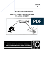Us Army Cc It0674 Analyze Fabrication Industries on Aerial Imagery