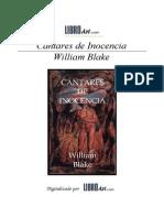 BLAKE WILLIAM - Cantares de Inocencia