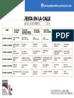 Programa Del 20 Feb Del 2014