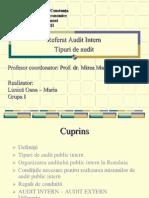 Tipuri de Audit