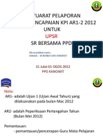 Format Pelaporan Kp1 Ar2 Upsr, Pmr Spm Ppd