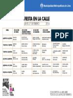 Programa Del 27 Feb de 2014
