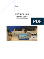 DCCCD Phys2425 Lab Manual Fall