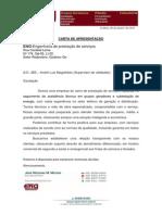 Carta Apresentação ENG