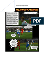 Roy of the Rovers - A New Beginning - Week 22 - Football Fiction Comic