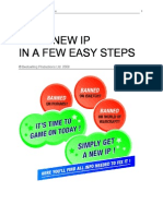 Your New IP in a Few Easy Steps