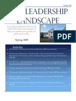 Leadership Landscape Spring 2009
