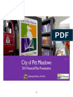 Pitt Meadows Corporate Plan Financial Overview - 2014