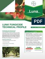 2012 Luna® Pistachio Fungicide - Product Bulletin