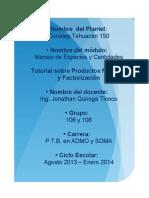 2_2 Productos y Factorización - eBook