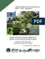 Flora y Fauna de El Estor, Izabal, Guatemala C. A.