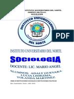 Sociologia i Tema 3