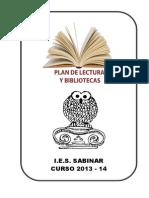 Plan Lector Ies Sabinar