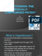 hypertension in the medically compromised patient