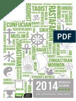 Interfaith Calendar 2014