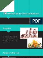 Nutricion Del Paciente Quirurgico