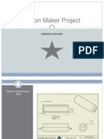 button maker project ppt