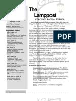 Lamppost. 9.11.09