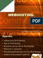 WebHosting (Alojamiento Web)