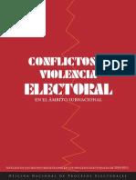 Conflictos y Violencia Electoral