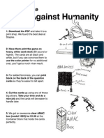 Cards Against Humanity - Main Game