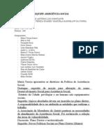Relatório Grupo DSOCIAL - pequeno grupo