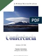 Conferência - William Branham