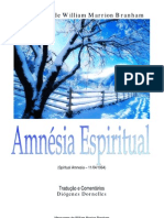 Amnésia Espiritual - William Branham