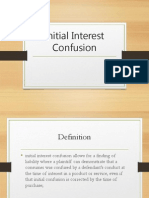 Initial Interest Confusion