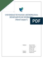 Manual Lenguaje c